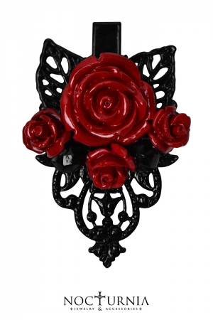 Rose Hairclips