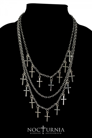 Crosses Necklace
