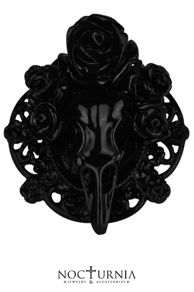 Blooming Raven